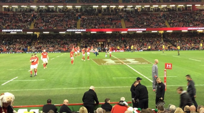 Rugby Union: Australia Silence Wales At Home