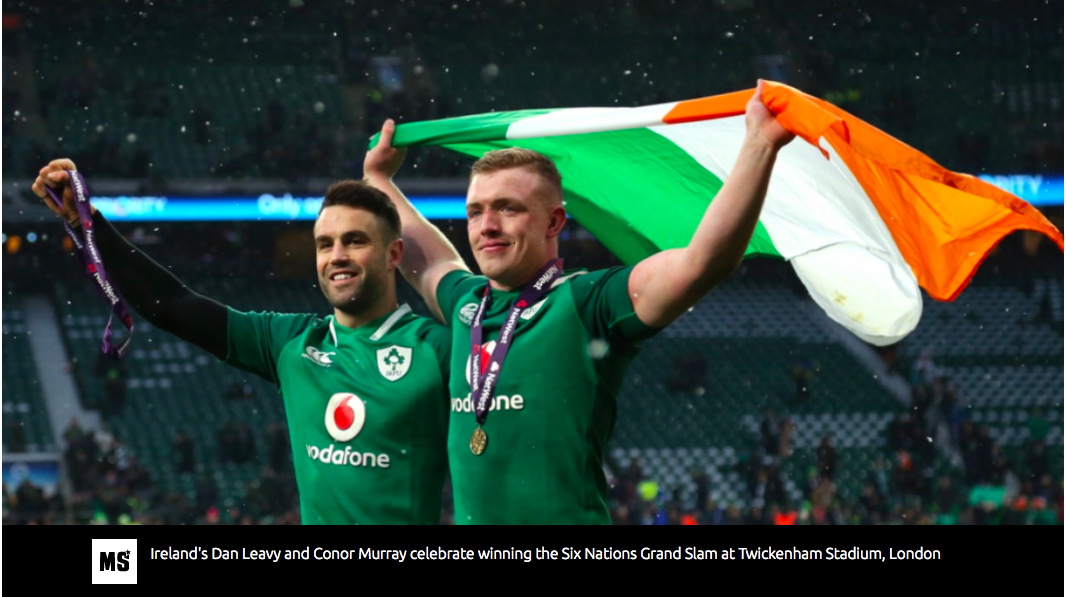 Six Nations Rugby: Irish grand slam was never in doubt